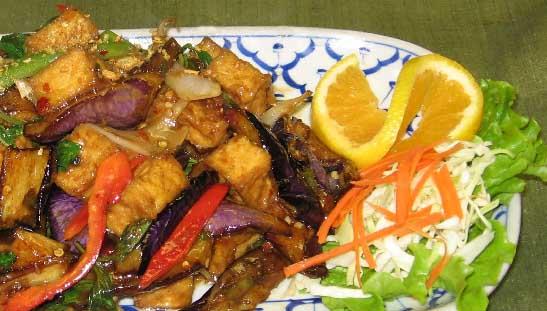 Spicy Eggplant Mint Image