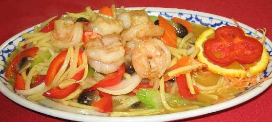 Shrimp with Bamboo Shoots Image