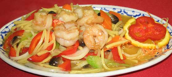 Shrimp with Bamboo Shoots Image