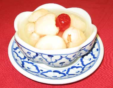 Chinese Lychee Fruit in Sweet Syrup  Image