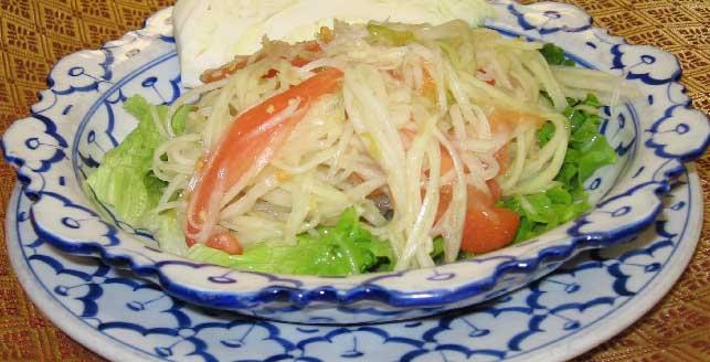 Papaya Salad (Thai-Style)  Image