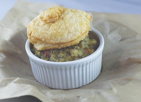 Vegetable Pot Pie Image