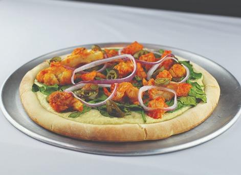 Buffalo Cauliflower Pizza Image