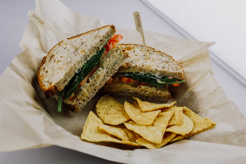 Chicksea Salad Sandwich Image