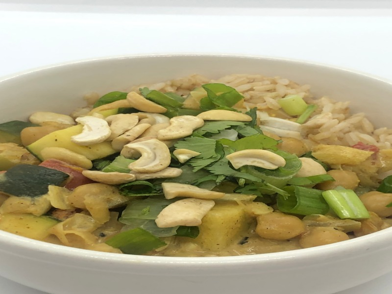Summer Coconut Curry Image