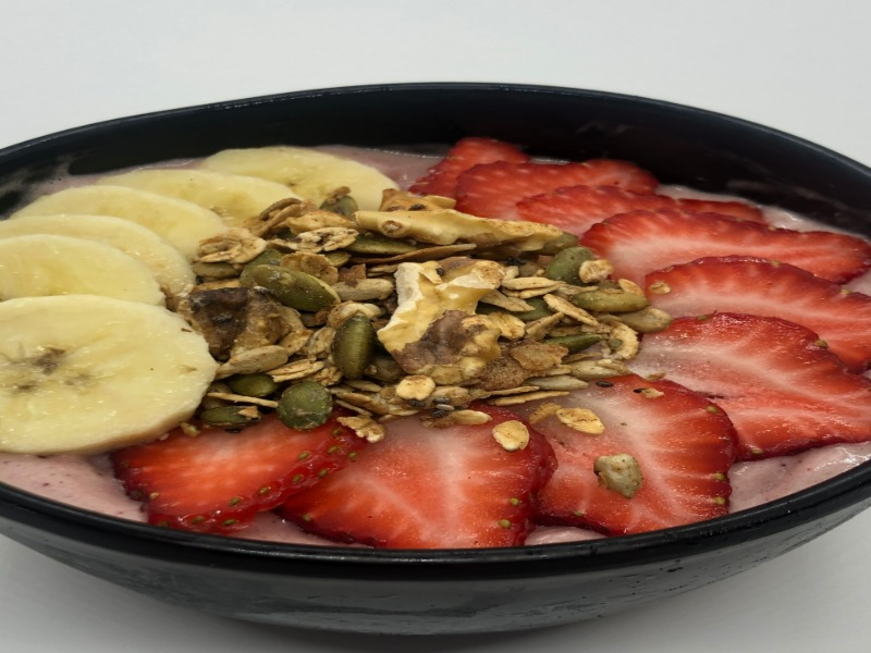 Strawberry Patch Bowl Image