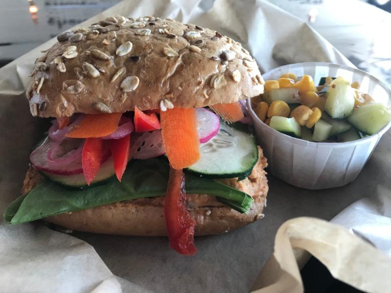 Veggie Crunch Sandwich Image