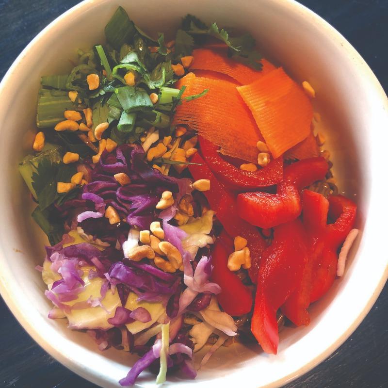 Thai Peanut Soba Noodle