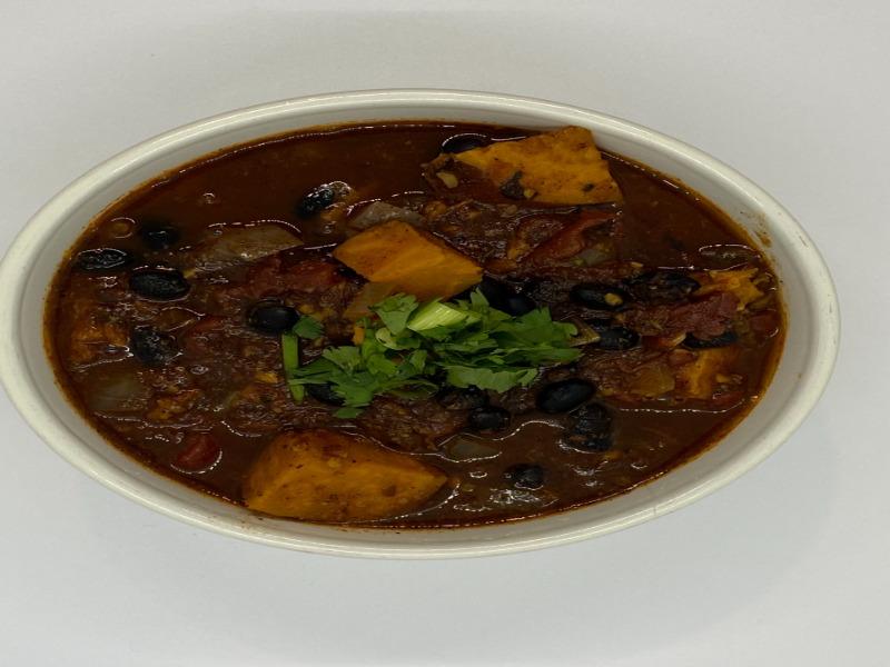 Chili- Sweet Potato & Black Bean