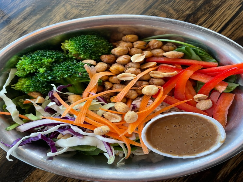 Thai Peanut Buddha Bowl Image