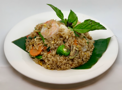F6. Green Curry Fried Rice