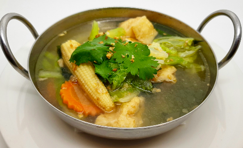 S3. [Small] Golden Seasoned Soup (Tom Jued) Image