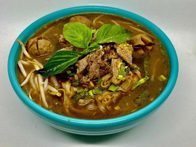 NS1. Thai Boat Noodle Soup