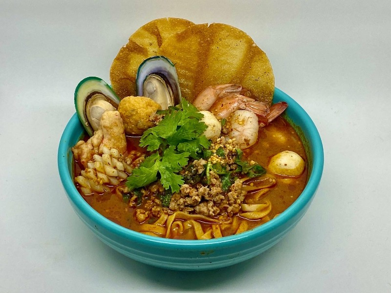 NS3. Tom Yum Seafood Noodle Soup Image