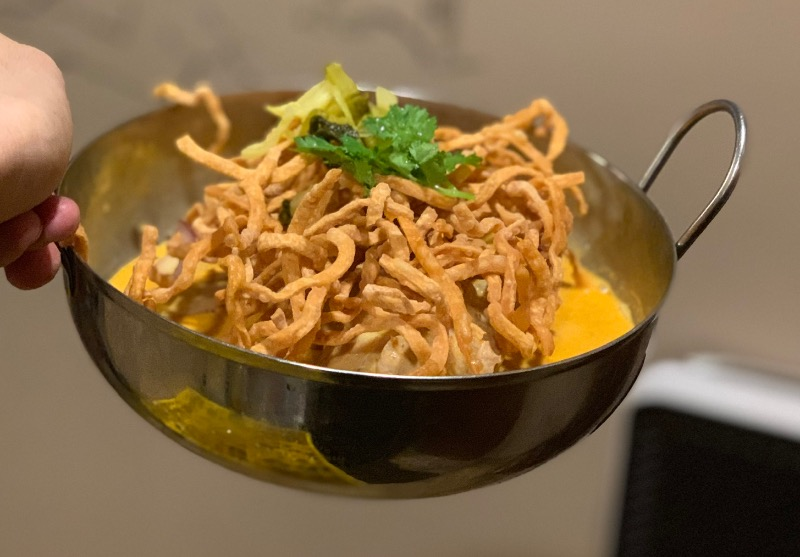 T8. Chicken Curry Noodle (Kao Soy) Image