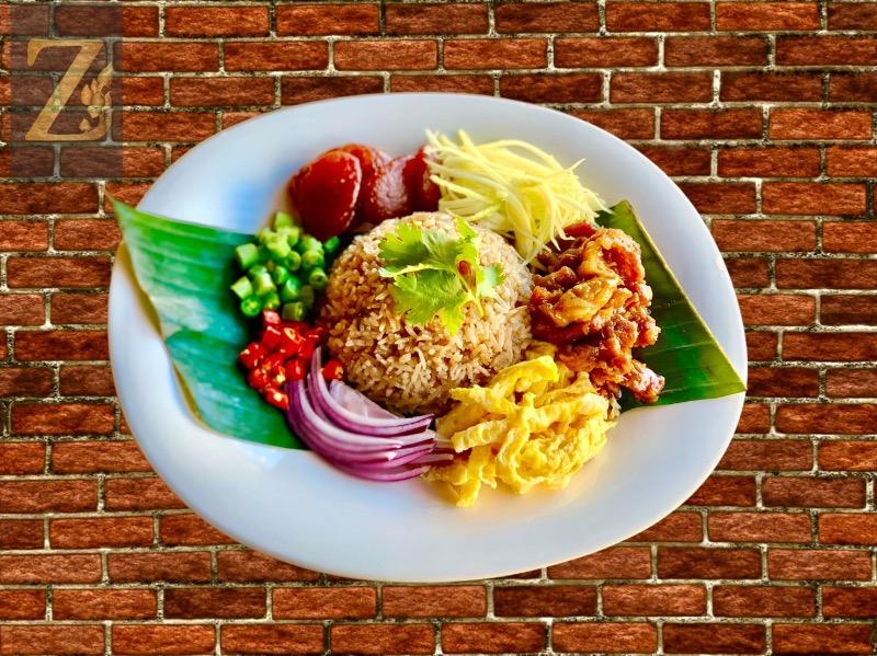 T9. Kapi Aroma Rice (Khao Kluk Kapi) Image