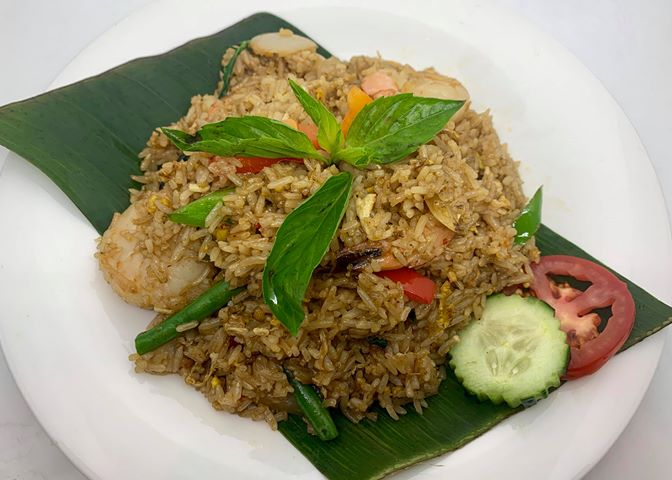 F3. Basil Fried Rice