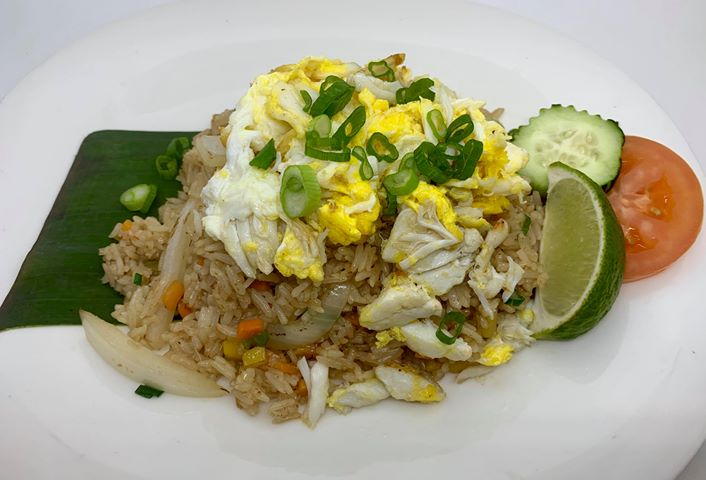 F10. Crab Meat Fried Rice Image