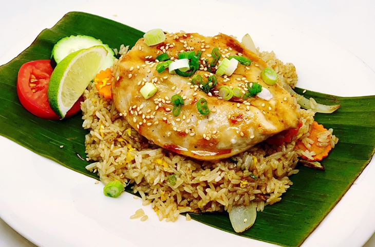 F11. Chicken Breast Teriyaki Fried Rice Image