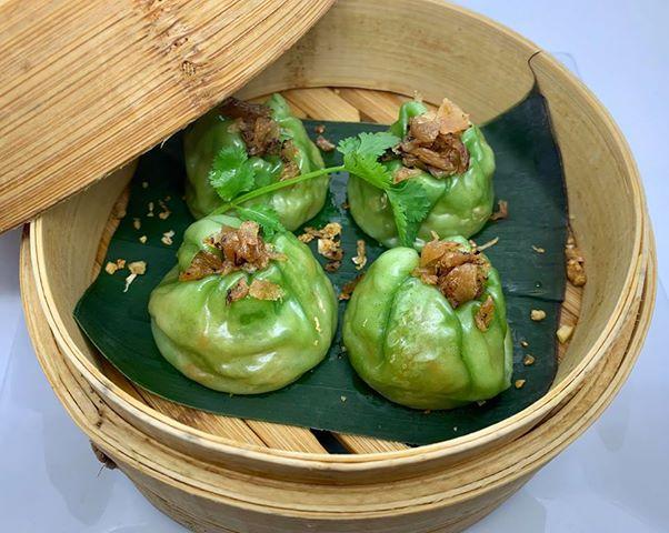 A3.Steamed Jade Dumplings (Kha Nom Jeeb Puk)