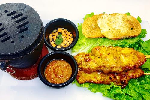 A20. Chicken Satay Image