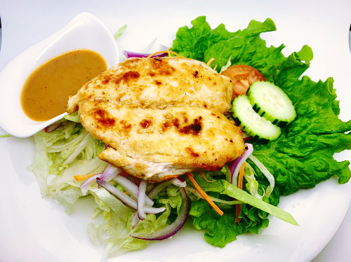 S11. Grilled Chicken Breast Salad Image