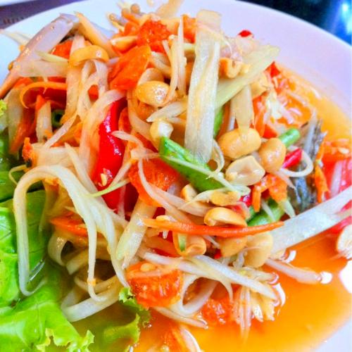 S12. Thai Papaya Salad (Som Tum Thai) Image