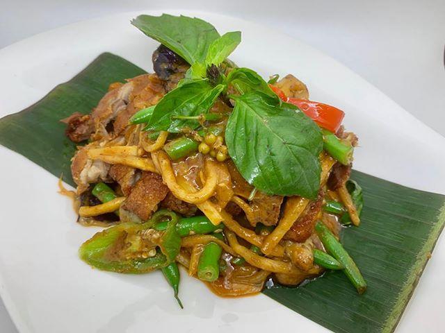 E14. Wok Curry Paste Sauce (Pad Ped) Image