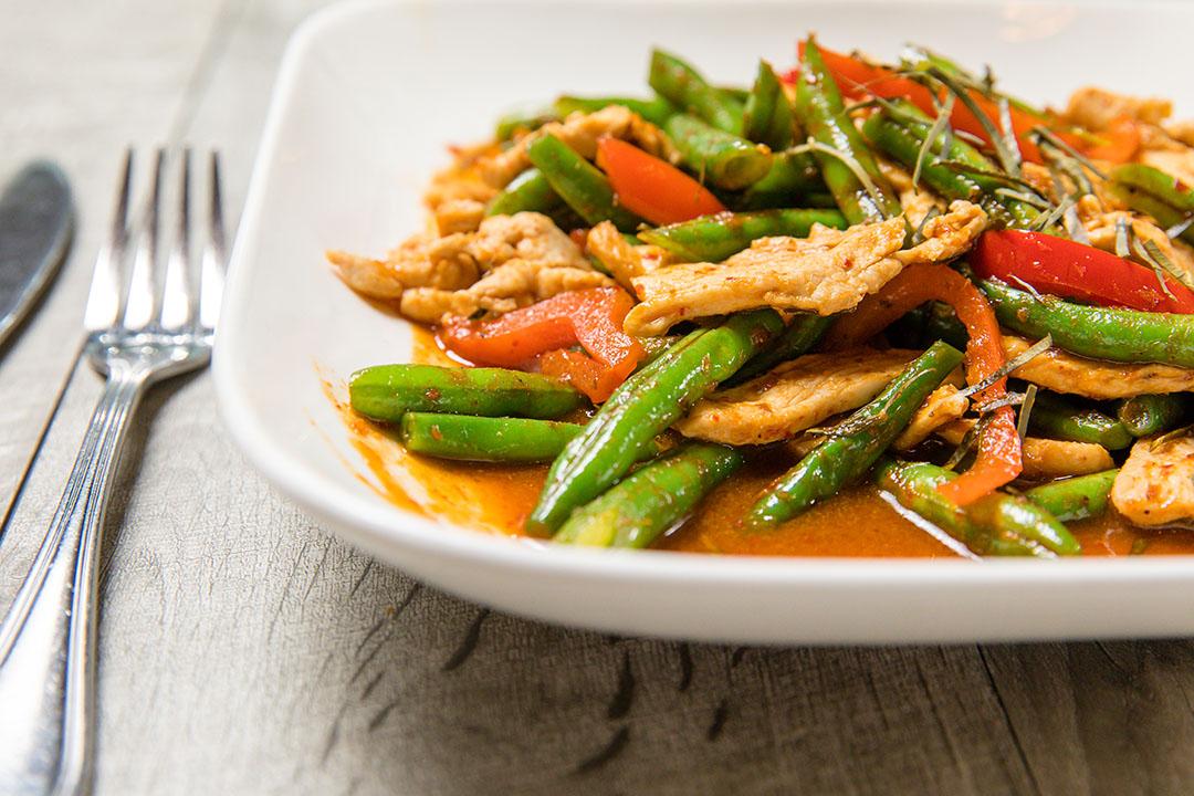 Pad Prik Khing (Lunch) Image