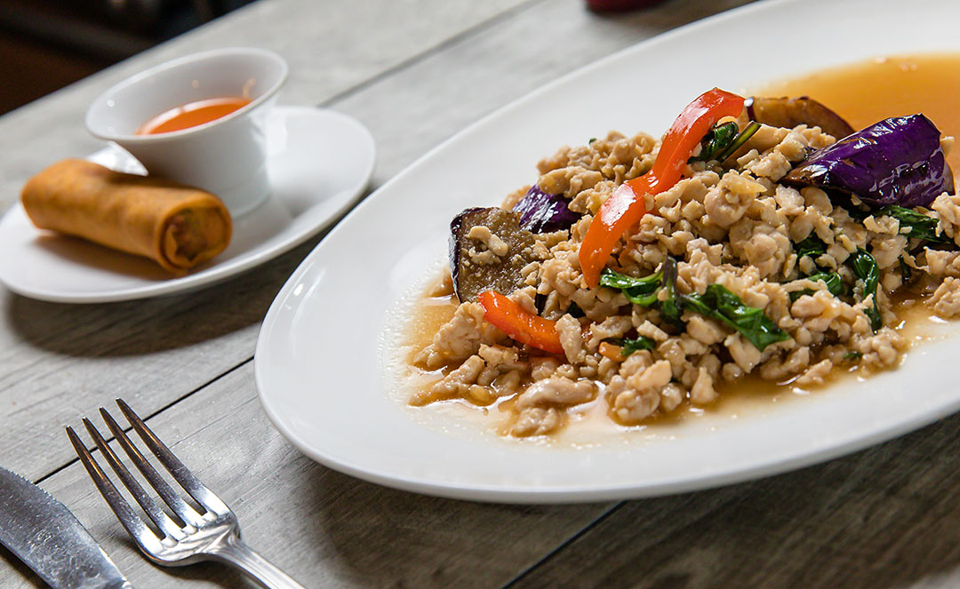 Eggplant Gai Sub (Lunch) Image
