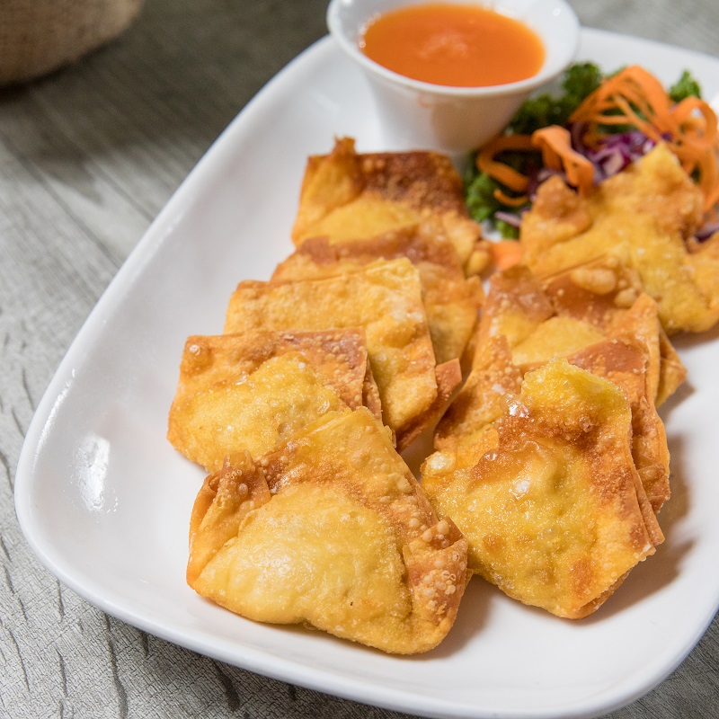Fried Chicken Wontons Image