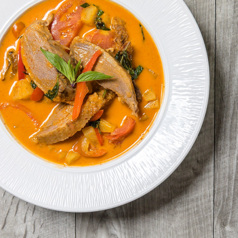 Roasted Duck in Red Curry
