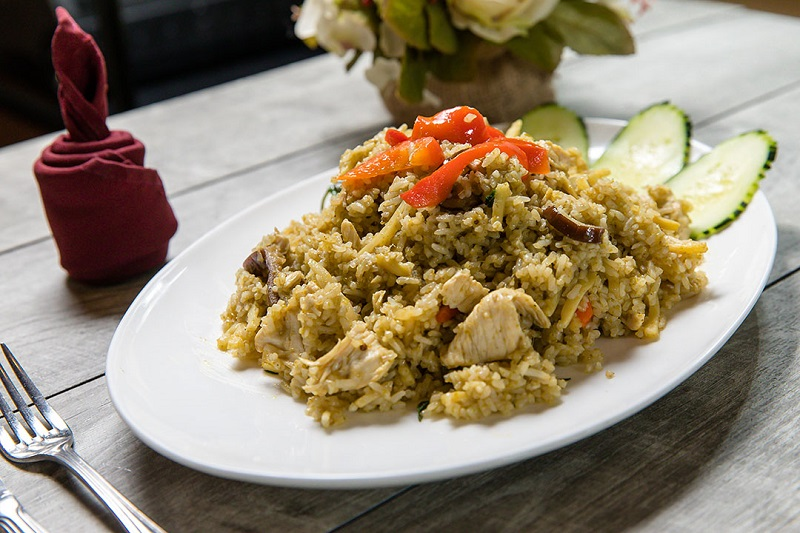 Green Curry Fried Rice Image