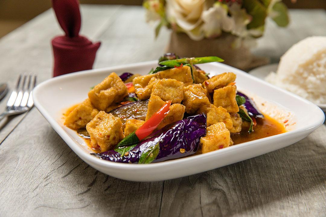 Spicy Eggplant Tofu (Lunch) Image