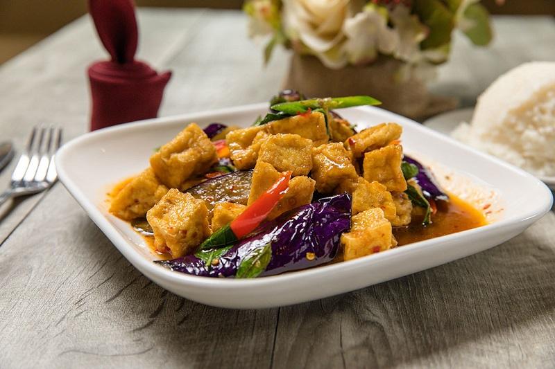 Spicy Eggplant Tofu Image
