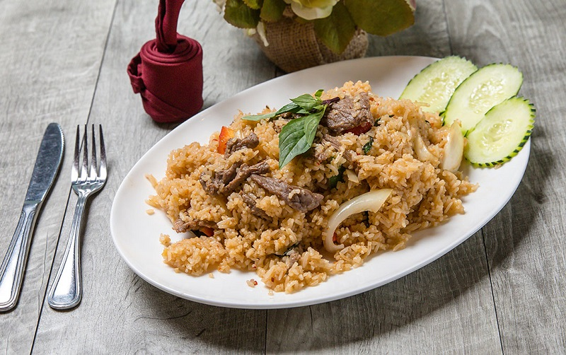 Basil Fried Rice Image