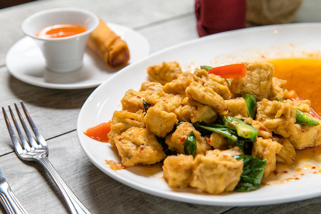 Ka Prao Tofu (Lunch) Image