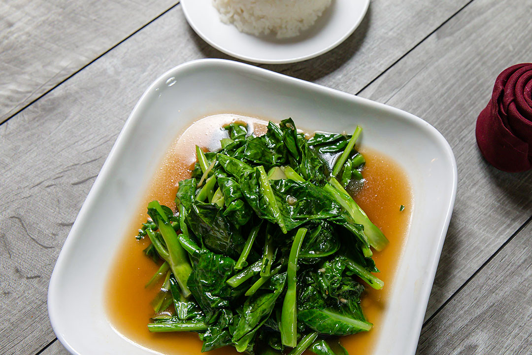 Chinese Broccoli (Lunch)