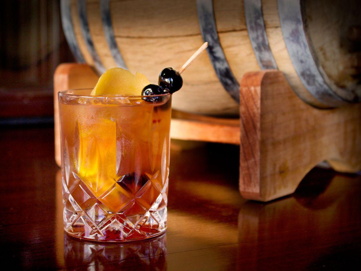 Barrel Aged Cocktails