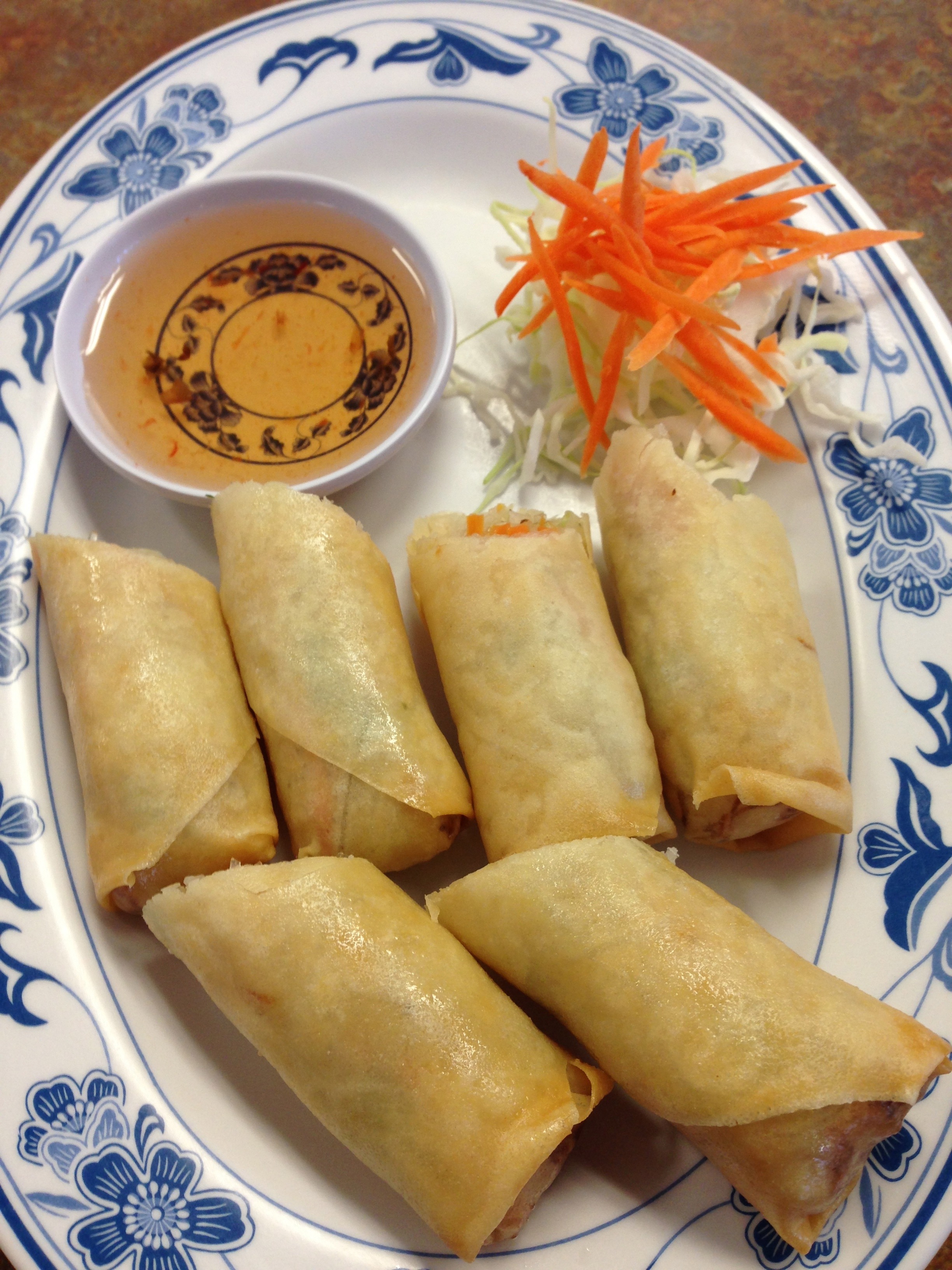 #1 DEEP FRIED SPRING ROLLS