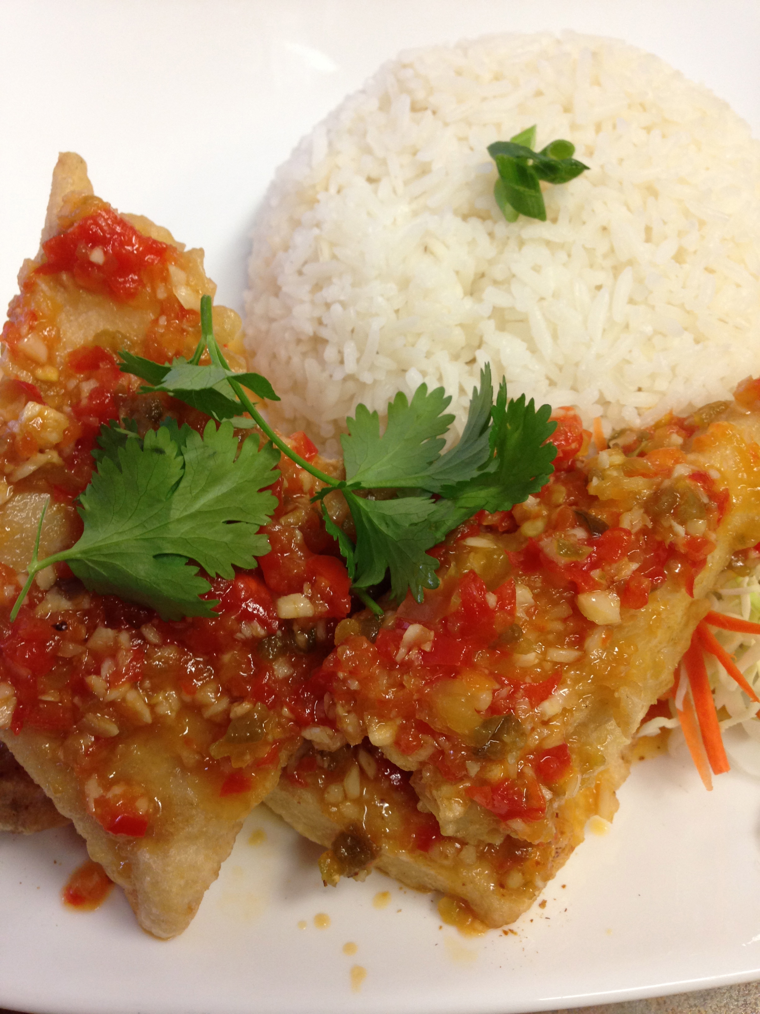 #48 FISH WITH TRIPLE FLAVORED SAUCE Image