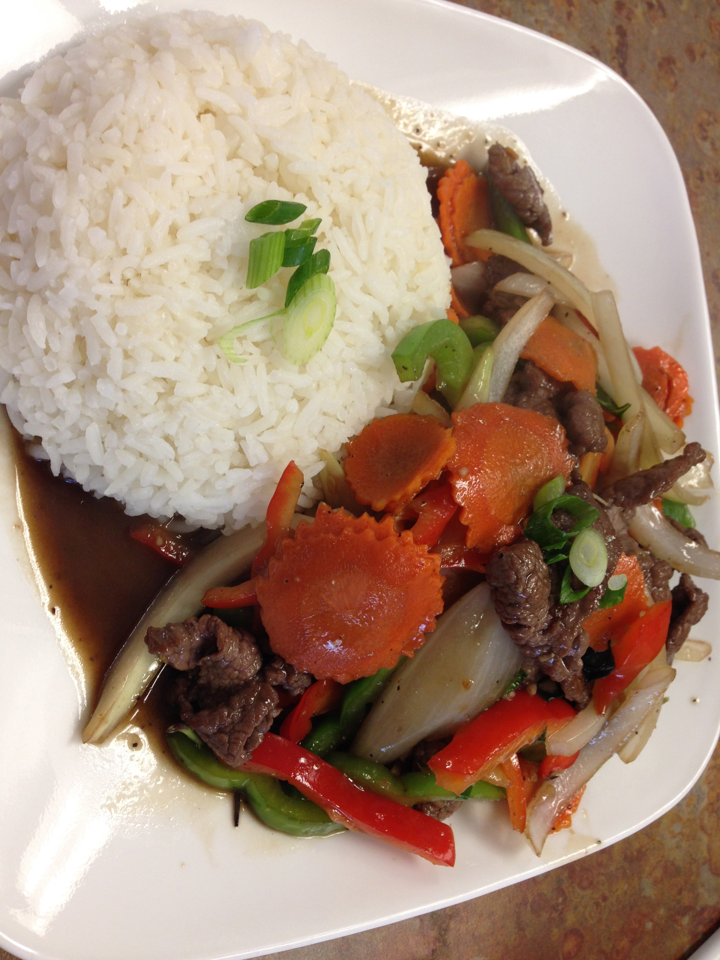 #27 THAI PEPPER STEAK Image