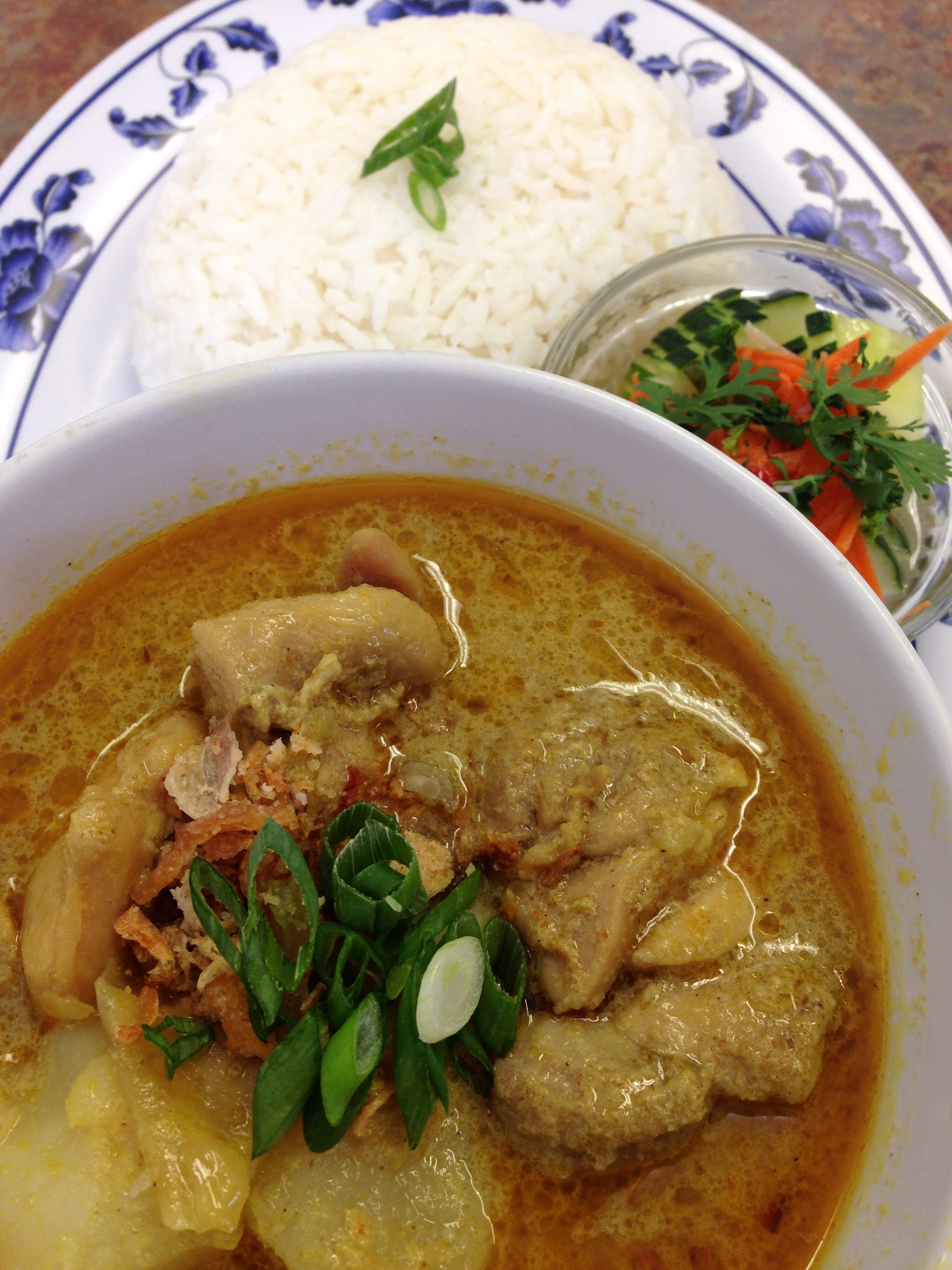 #16 CHICKEN YELLOW CURRY Image