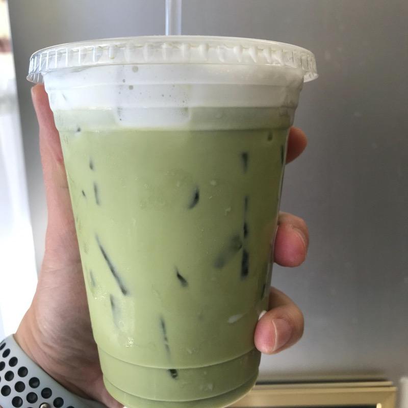 GREEN MILK TEA Image
