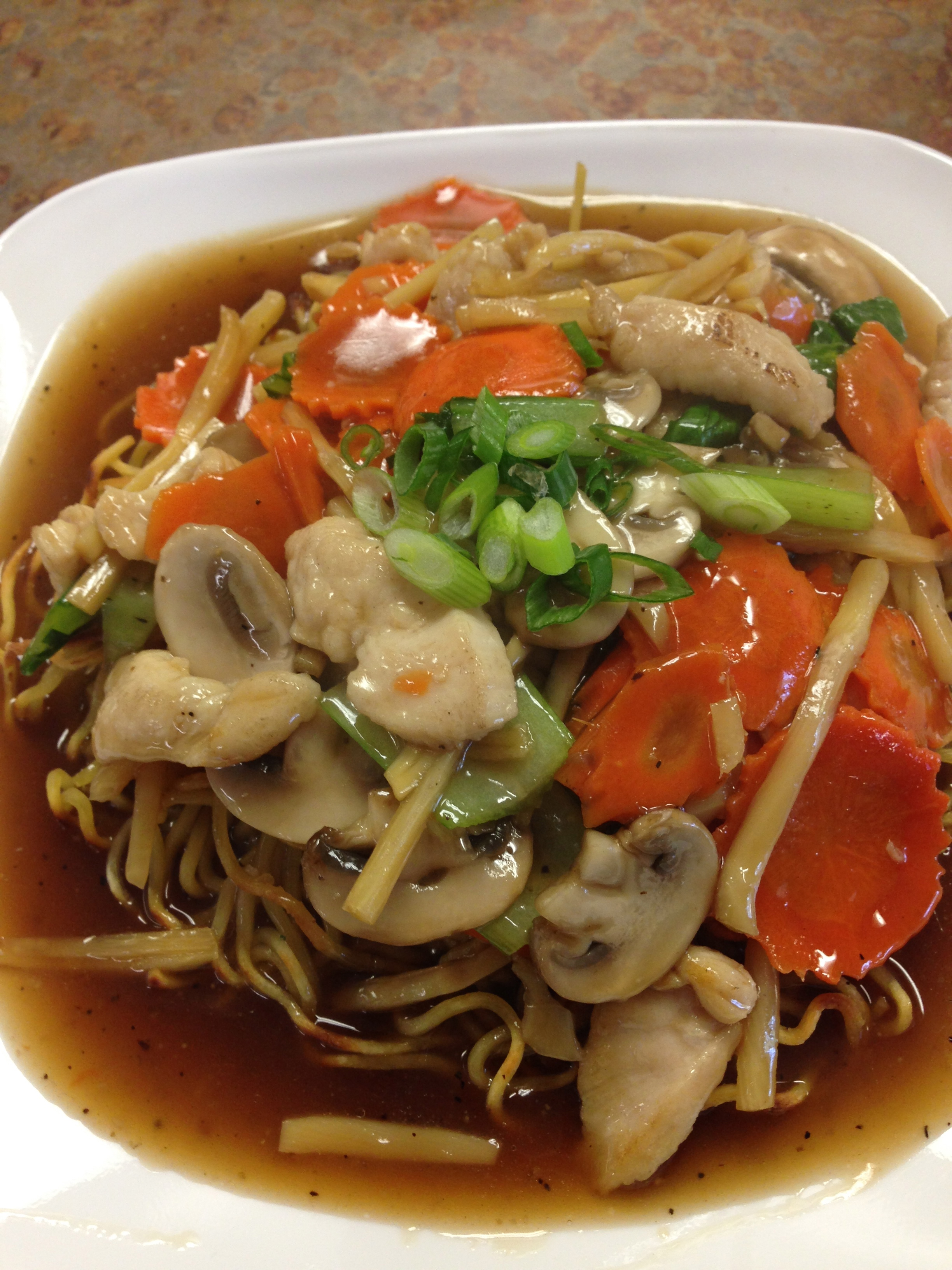 #38 PAN FRIED NOODLE