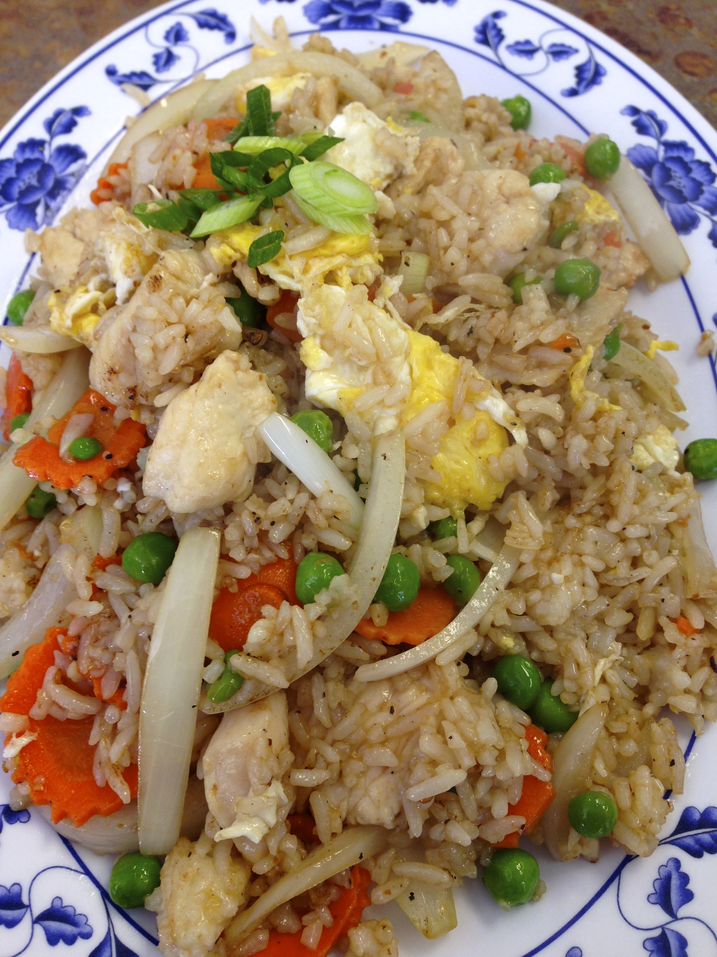 #34 CRAB FRIED RICE