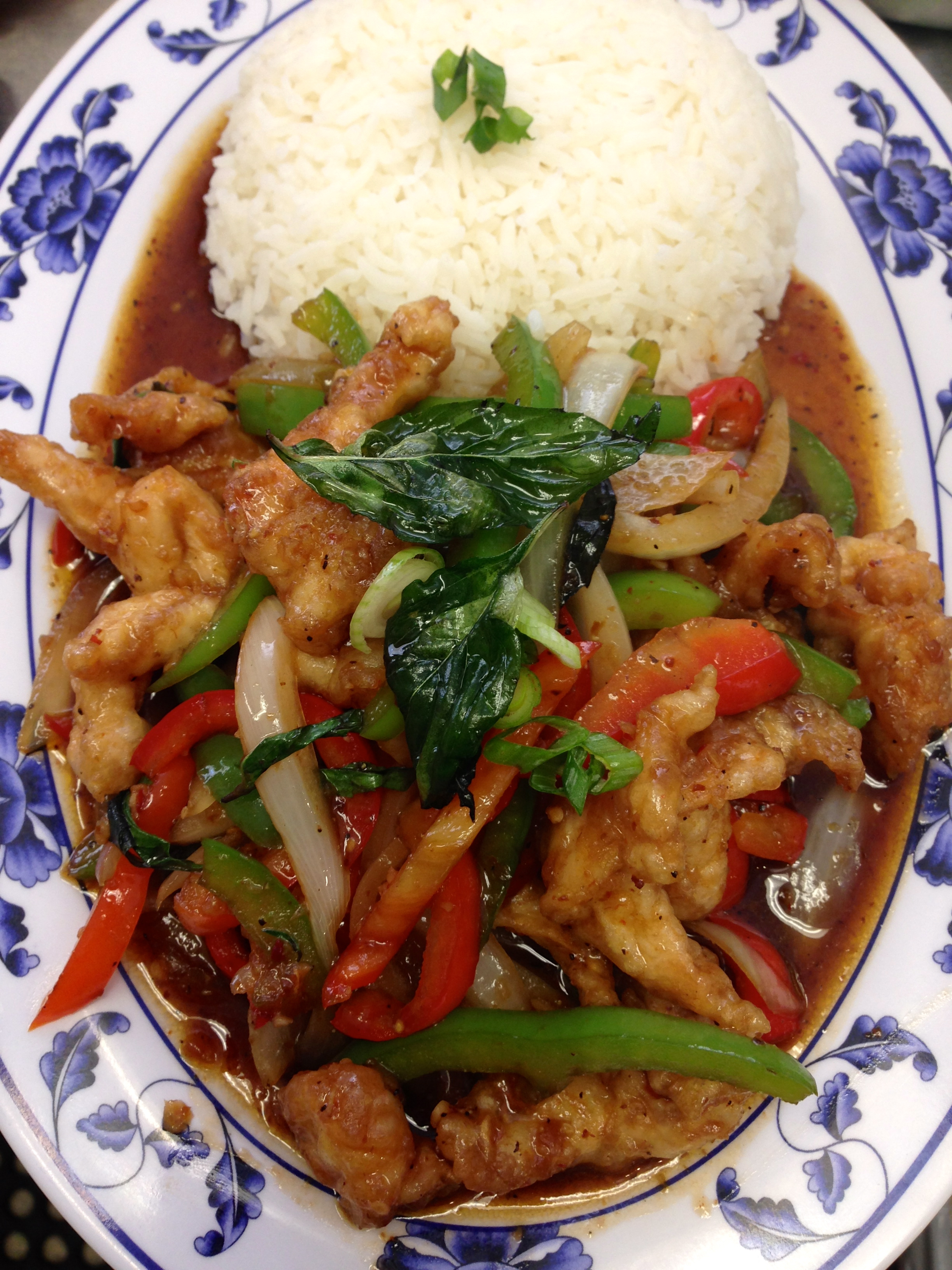 SP 3 STIR FRIED BREADED CHICKEN WITH CHILI PASTE