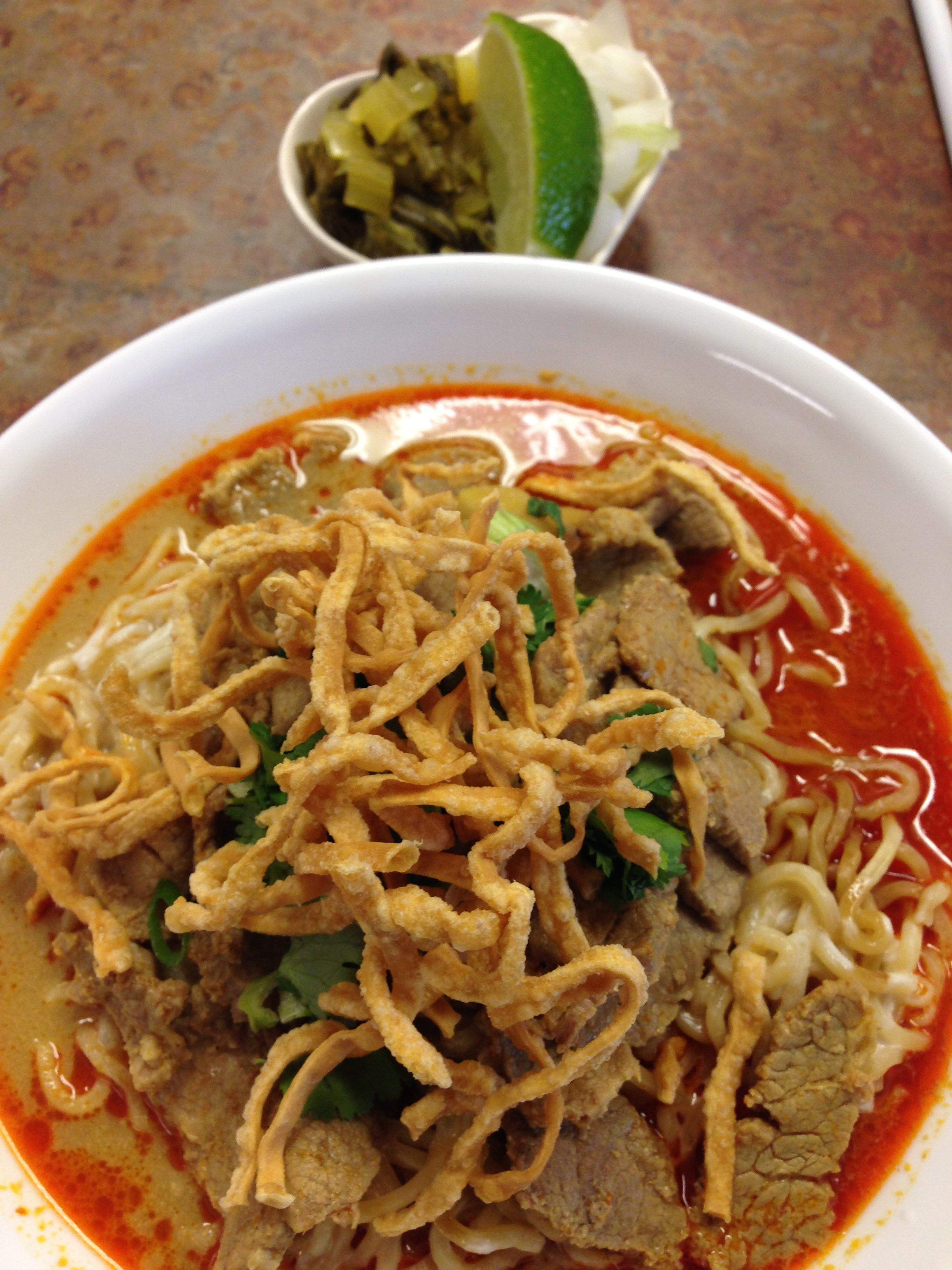 #40 CHIANG MAI BEEF CURRY NOODLE Image