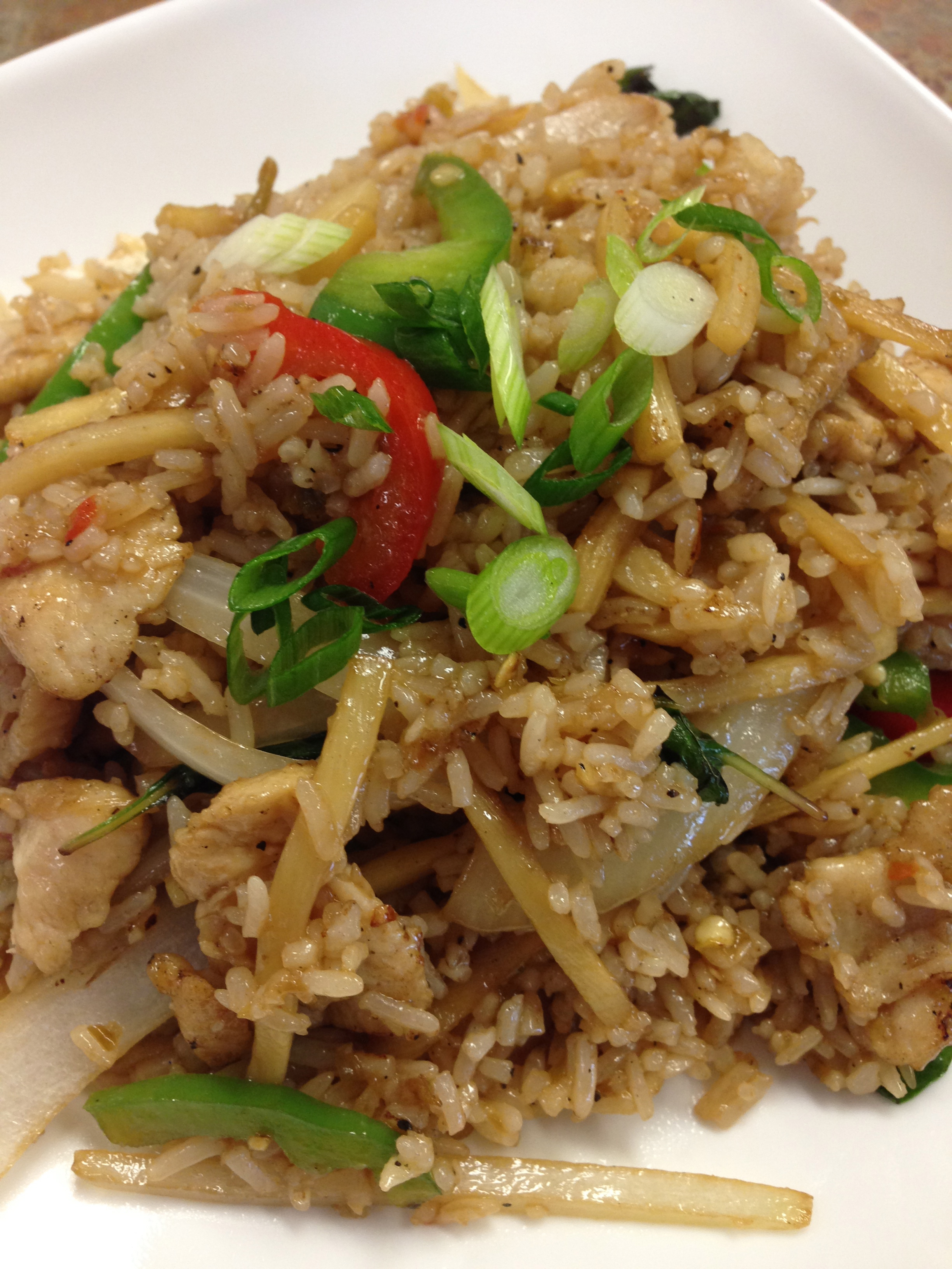 #32 SPICY FRIED RICE