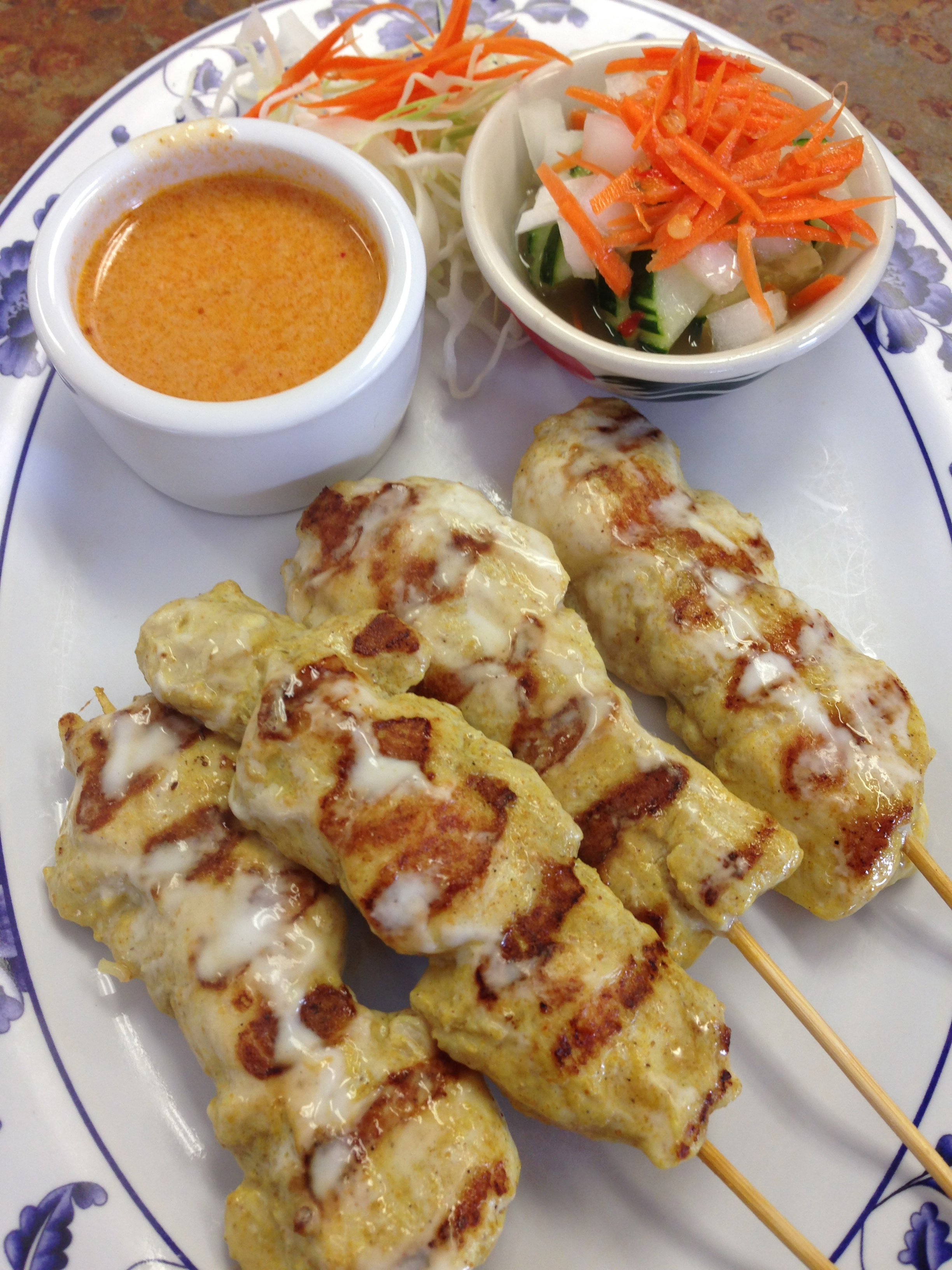 #3 CHICKEN SATAY